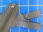 Dark Gray Heavy Weight SEPARATING Invisible Zippers - 20