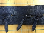 NAVY #6 Invisible Zipper Yardage (Click on Picture)