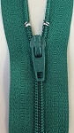 MEDIUM GREEN #3 Finished Zipper