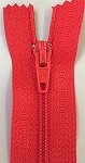 BRIGHT RED #3 Finished Zipper