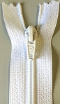 WHITE #3 Zipper (Click on Picture for lengths)