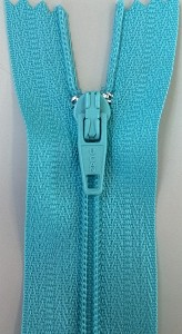 MED. AQUA #3 Finished Zipper