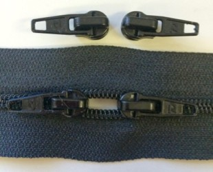BLACK #5 Zipper - 200 yard roll - sale