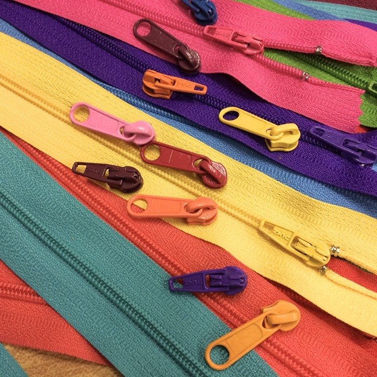 Bright Candy Colored Yardage: 6 Colors & Long/Short Pulls