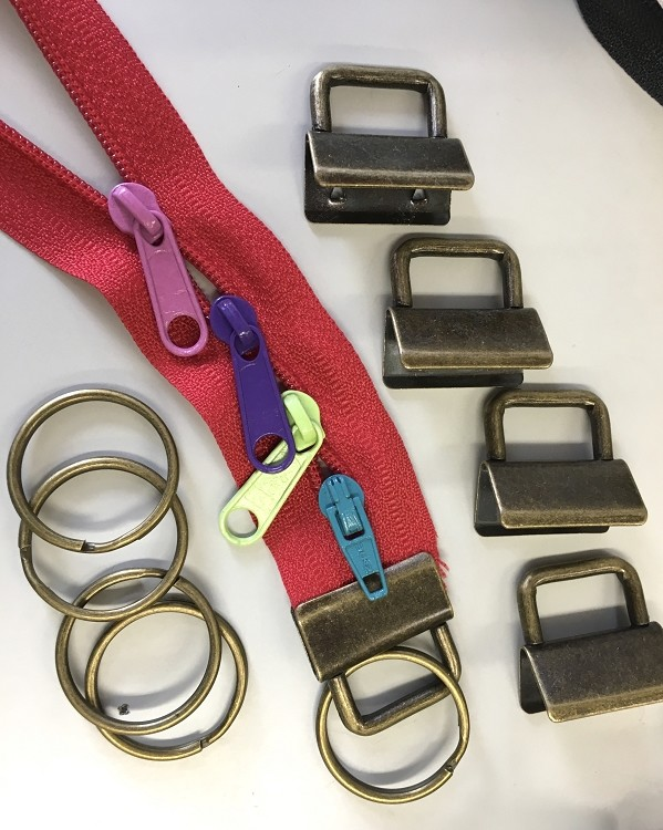 4 Fob Sets for Lanyards & Key Fobs