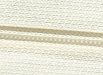 IVORY #5 Coil Zipper by the Yard