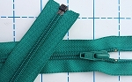 YKK emerald separating zipper