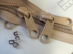 Tan #10 Coil Zipper Yardage (Click on the picture)
