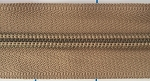 Khaki #5 Coil Zipper by the Yard
