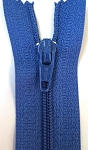 ROYAL BLUE #3 Finished Zipper