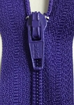 Ultra Violet #3 Finished Zipper