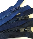 Navy YKK #5 Molded - 26 or 32