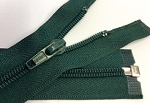 Hunter Green or Dark Green #5 Coil Separating Zipper