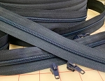 NAVY #5 Zipper - 200 yard roll