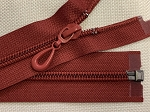 Dark Red or Cranberry 1-way Separating Coil Zipper