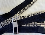 Retro Separating Zipper