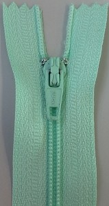 Mint #3 Coil Closed Bottom Craft/Apparel Zipper
