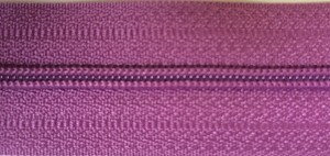Pale Plum #3 Coil Zipper