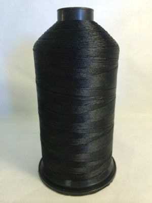 Black UV Thread 8 oz cone
