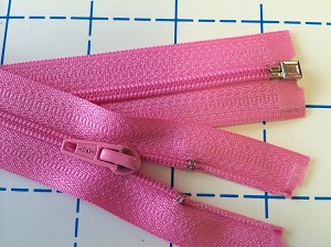 Candy Pink #3 Coil Separating Zipper