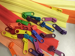 Craft Zippers for Making Pea Pods