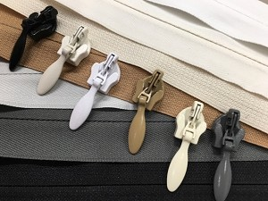 White, Silky White, Ivory, Butterscotch, Light Gray, Dark Gray, Black