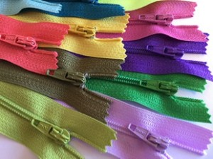 "14"" Multi Color Finished Zips - 25pcs"