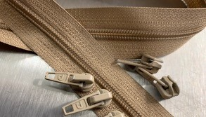 #4.5 TAN Zipper by the Yardage